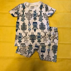 12-18 month boys pj short set